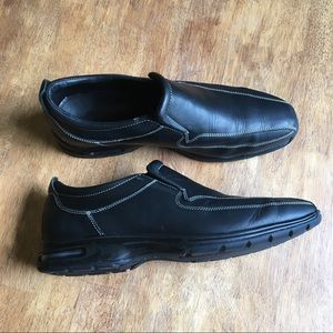 Cole Haan Leather Loafers - Nike Air Sole